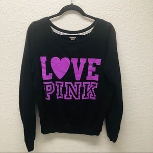 VS Pink Sweater Size Large